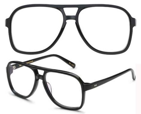 Terry Richardson frames Moscot The Terry black