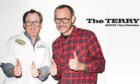 Terry Richardson frames Moscot