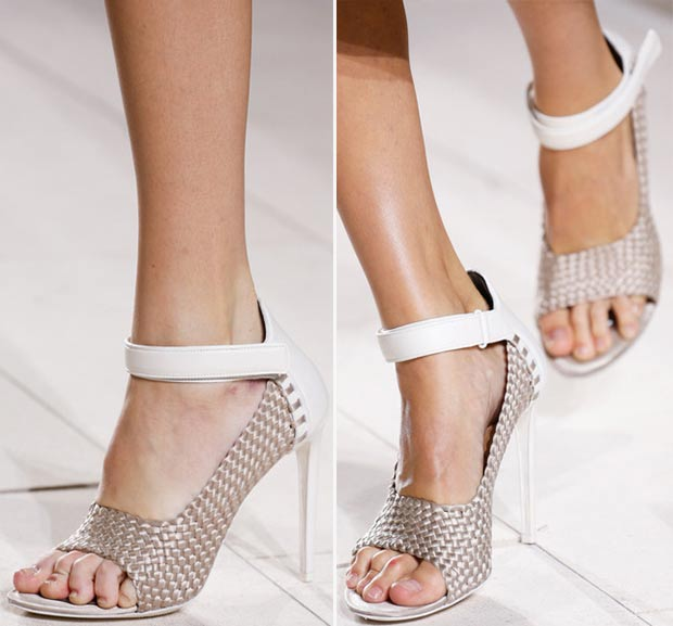 textured sandals Balenciaga Spring Summer 2014