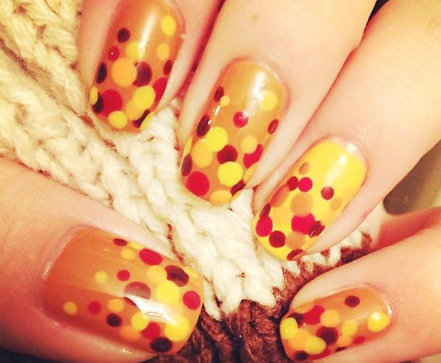 25 Great Thanksgiving Nails Ideas!