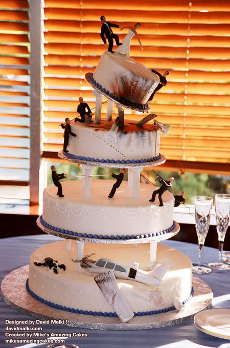 The Bond Wedding Cake