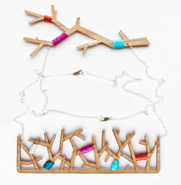 Dare To Wear The Wooden Jewelry By Evrt Studio?