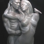 The Brangelina Daniel Edwards Sculpture