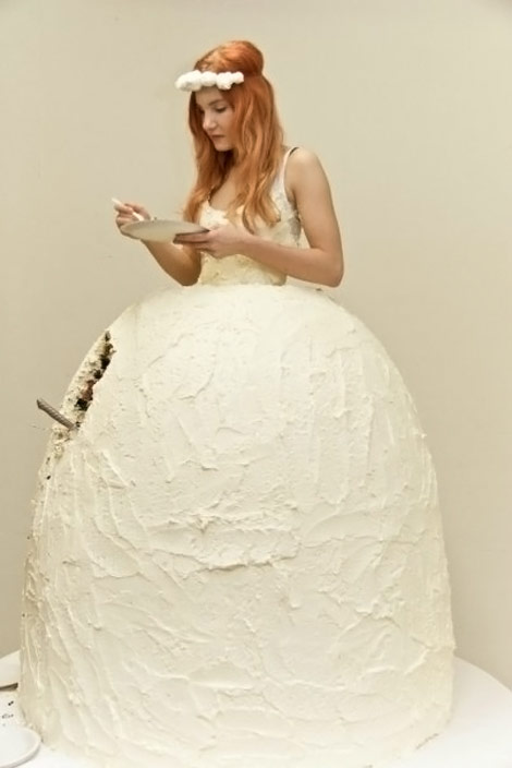 Dare To Wear And Eat The Cake Dress By Lukka Sigurdardottir?