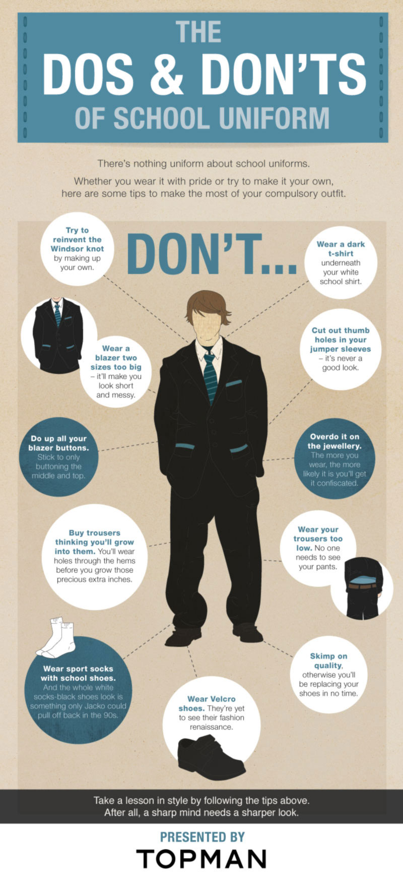 the dos and donts of school uniforms
