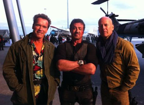 The Expendables sequel movie set