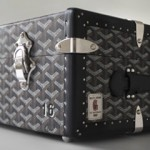 The Goyard book trunk