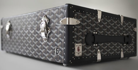 Goyard History Book In Goyard Custom Trunk