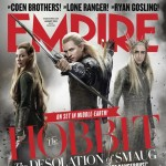 the Hobbit The Desolation of Smaug Empire August cover