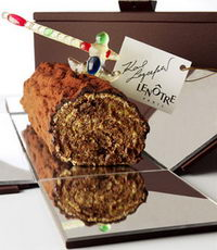 The Lagerfeld Lenotre Christmas Log