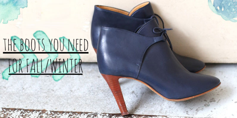 the must have boots for fall winter