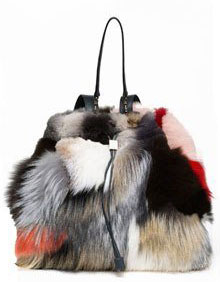 the new it bag the row furry backpack