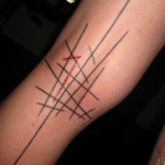 The new it tattoos abstract