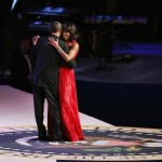 The President and The First Lady dance Inauguration Ball