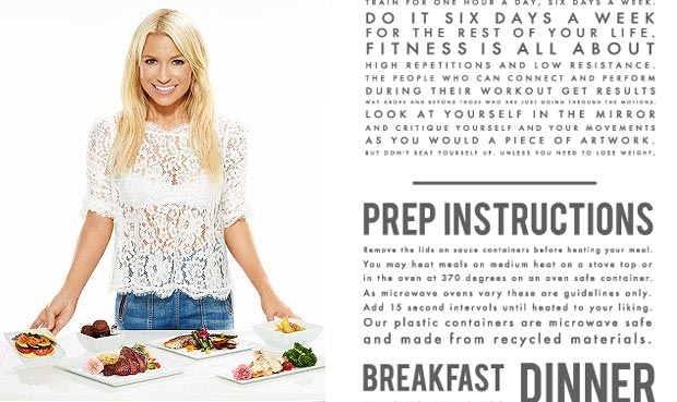the right diet program from Tracy Anderson