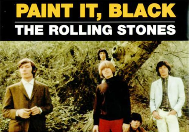 The Rolling Stones paint it black era