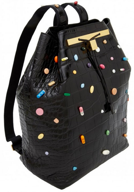 The Row must have bag Pills by Damien Hirst
