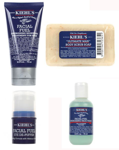 The Sartorialist's Kiehl's Men Care Kit