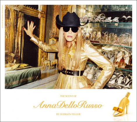 The Scent of Anna dello Russo ad campaign