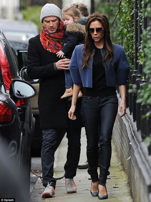 The Stylish Beckham Family