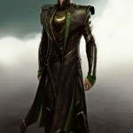 the suit worn by Tom Hiddleston as Loki suit in The Avengers