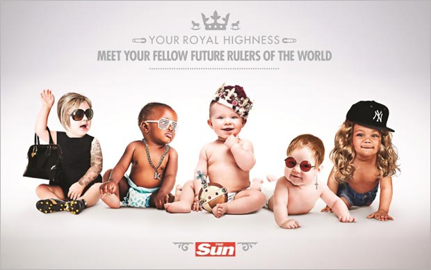 The Sun RoyalBaby special edition