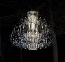 Therese Chandelier white