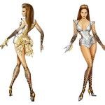 Thierry Mugler Beyonce constumes concert