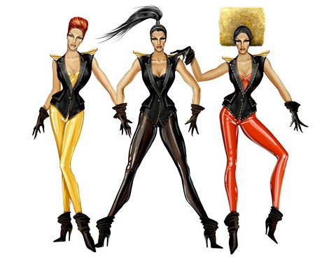 Thierry Mugler Costumes Beyonce