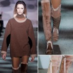 thigh high suede boots Fall 2014 Marc Jacobs