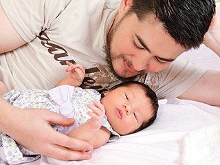 Thomas Beatie and Daughter Susan Juliette Beatie