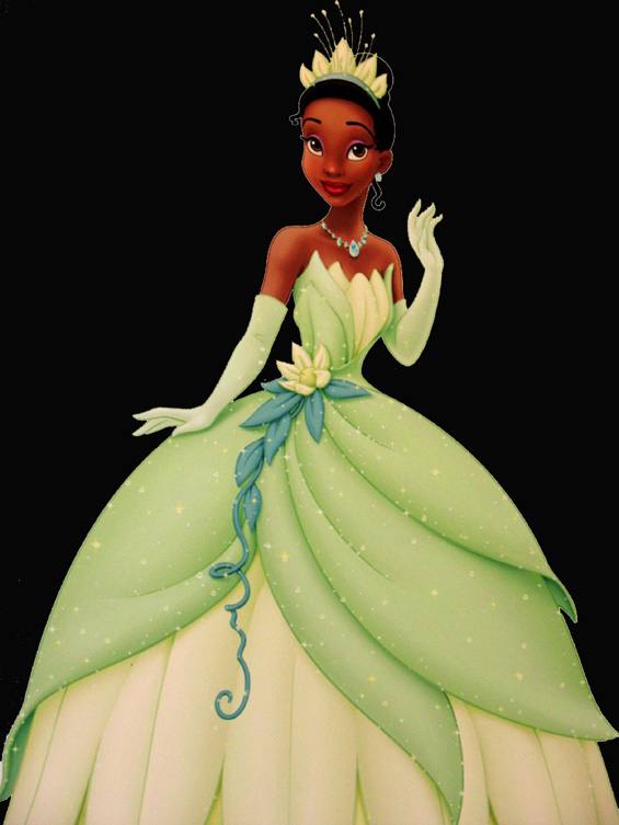 Tiana the black princess Disney