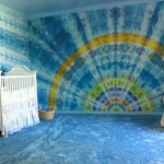 tie dye wall paint inspiration
