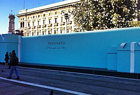 Tiffany Christmas tree boxes Milan