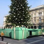 Tiffany Christmas tree Milan project