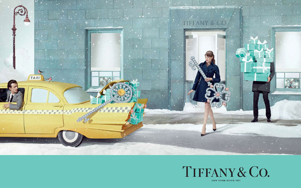 Tiffany Co Holidays 2014 ad campaign