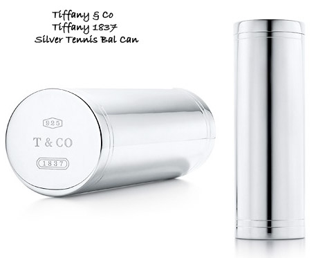Bling Your Tennis Set With Tiffany Silver Tennis Ball Can!