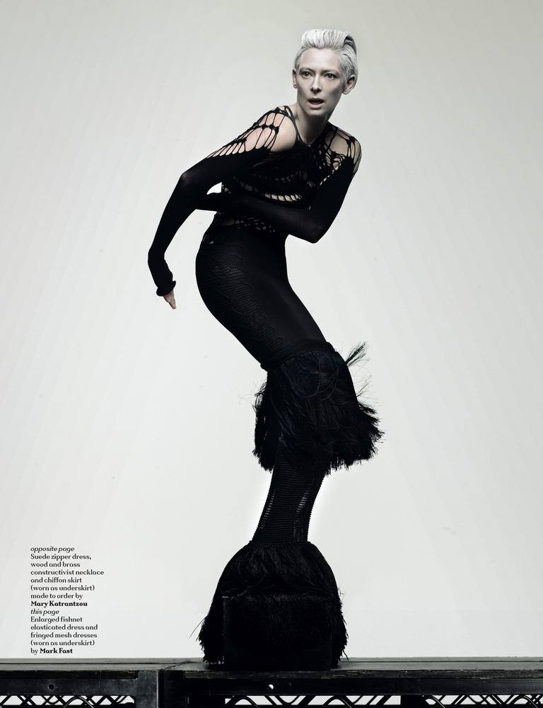 Tilda Swinton Another Magazine ss09 10