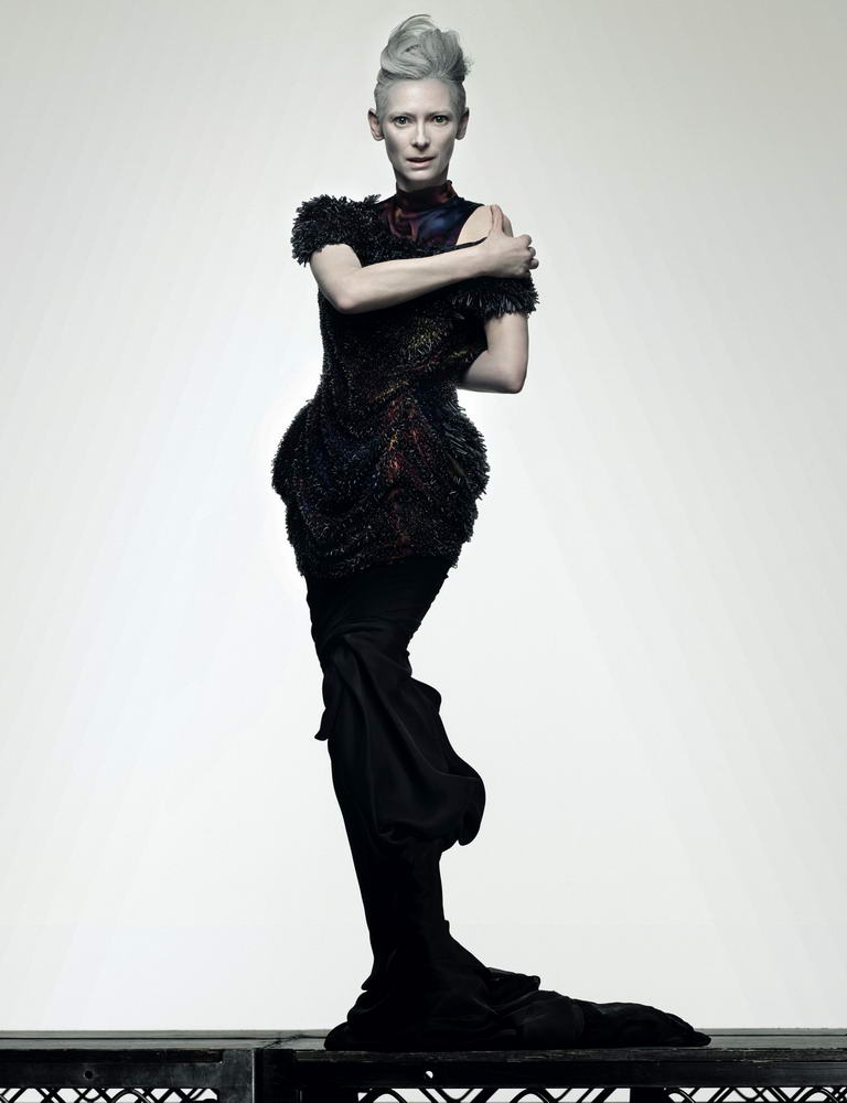 Tilda Swinton Another Magazine ss09 5