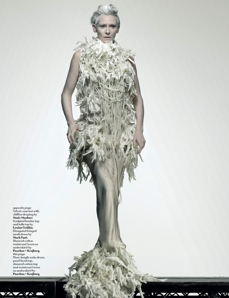 Tilda Swinton Another Magazine ss09 8
