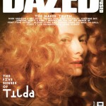 Tilda Swinton Dazed and Confused May 2010 cover