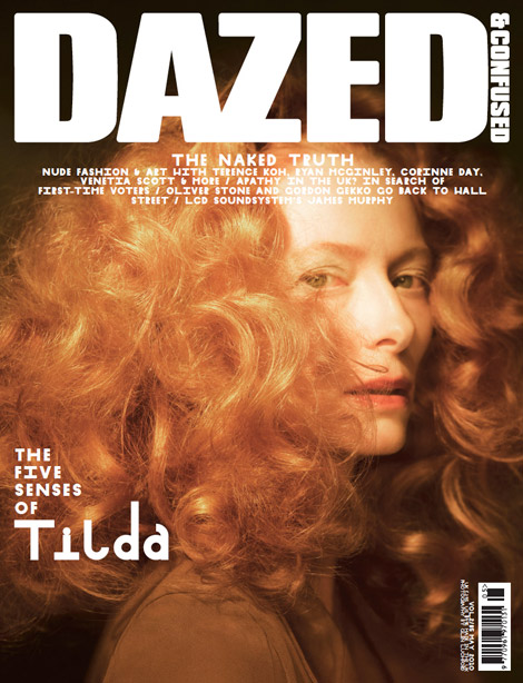 Tilda Swinton Is Dazed And Confused May 2010