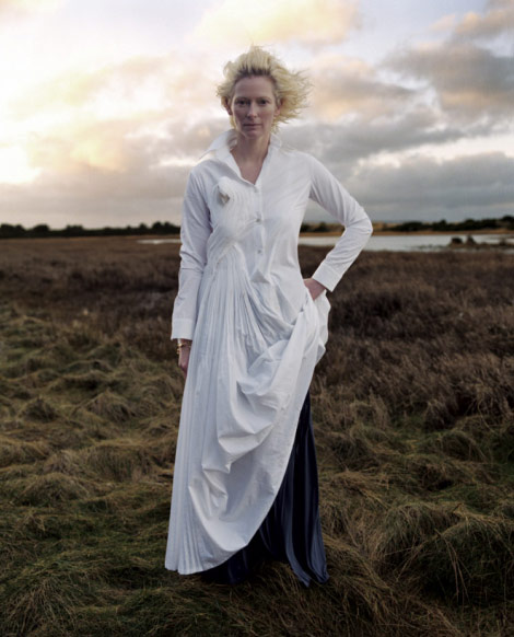 Tilda Swinton Nature