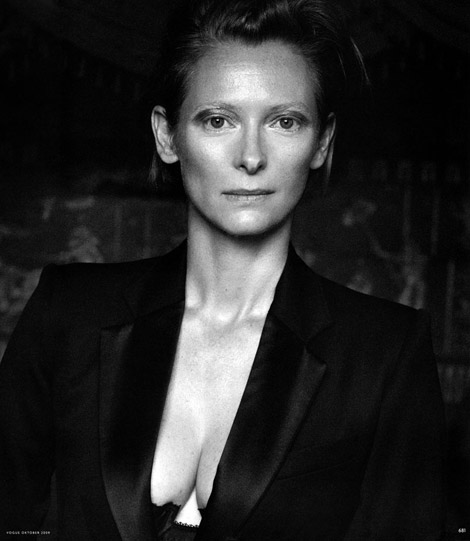 Tilda Swinton Vogue Germany October 2009