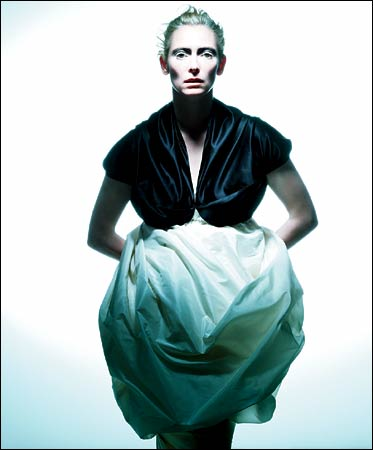 Tilda Swinton Zero Maria Cornejo Dress