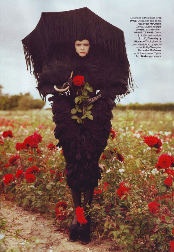 Tim Burton Harper s Bazaar october 2009 1