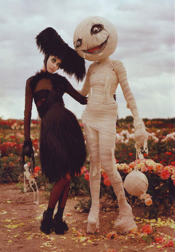 Tim Burton Harper s Bazaar october 2009 2