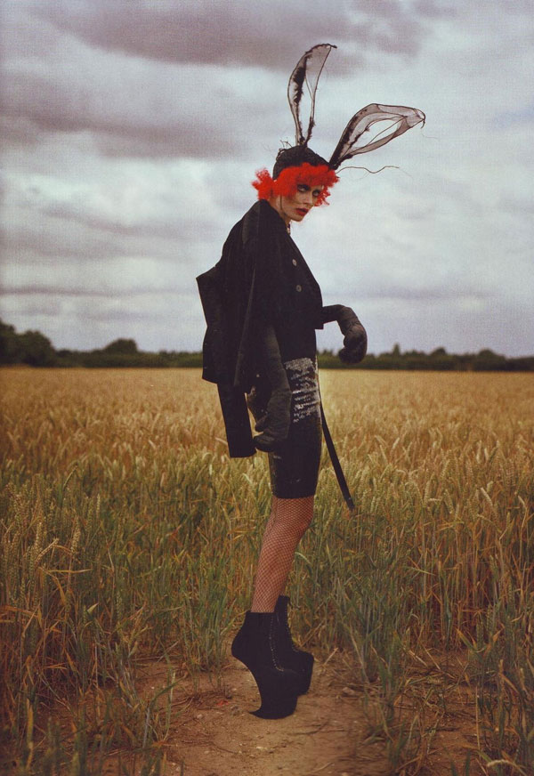 Tim Burton Harper s Bazaar october 2009 3
