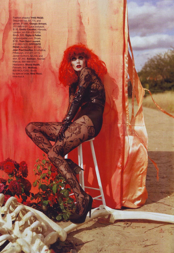 Tim Burton Harper s Bazaar october 2009 4
