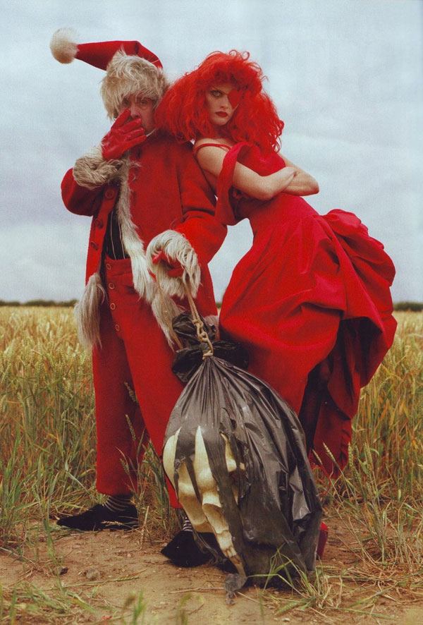 Tim Burton Harper s Bazaar october 2009 5